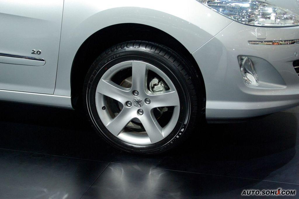 标致 神龙汽车 408 东风标致408车展实拍 车展车型 2010高清图片