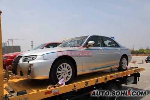 上海牌 电动车 实拍 外观 自主车 新能源车 图片