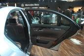奔驰S级混合动力车展实拍