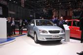 比亚迪F3DM日内瓦车展实拍