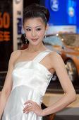 2008北京车展沃尔沃车模