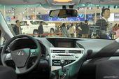 雷克萨斯RX350车展实拍