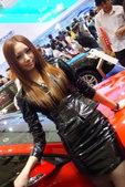 2010北京国际车展全球鹰车模
