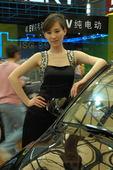 2009上海车展瑞麒车模