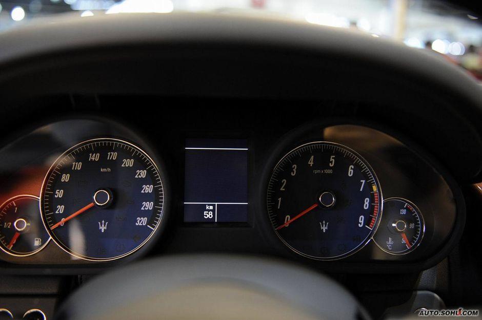 玛莎拉蒂 玛莎拉蒂 总裁 玛莎拉蒂总裁精英版车展实拍 车高清图片