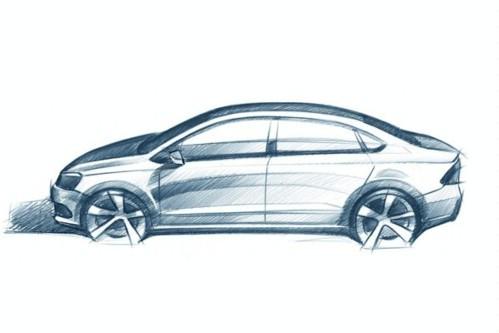 素描画车的图片步骤图片