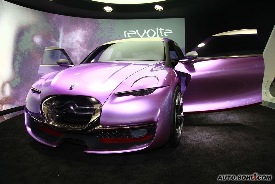 雪铁龙Revolte概念车车展实拍