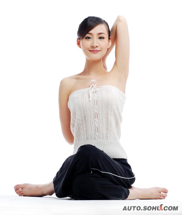 比亚迪模特图片_王琳娜_模特图片库_2010北京车展