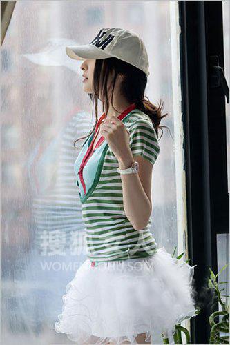 阳光7月 时尚夏帽巧搭发型百看不腻