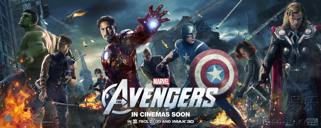 《复仇者联盟》发新版角色海报 英雄联手抗敌