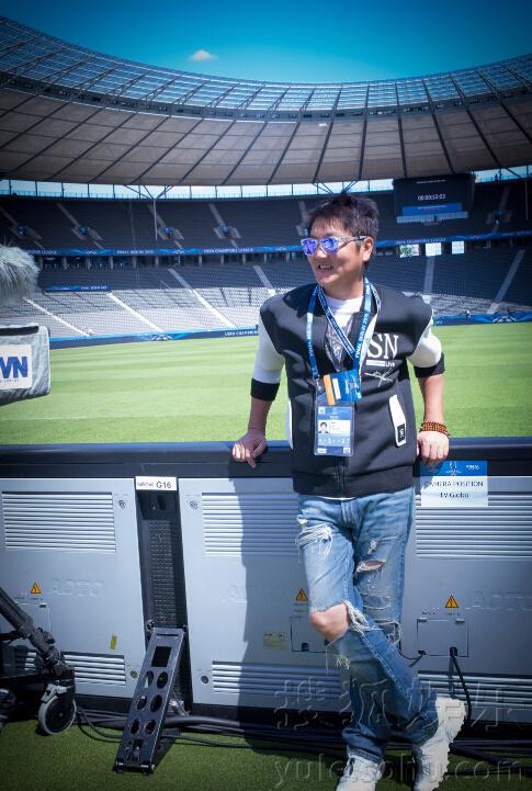 特别邀请,作为2015央视欧冠决赛直播形象大使,更会于6月6日于柏