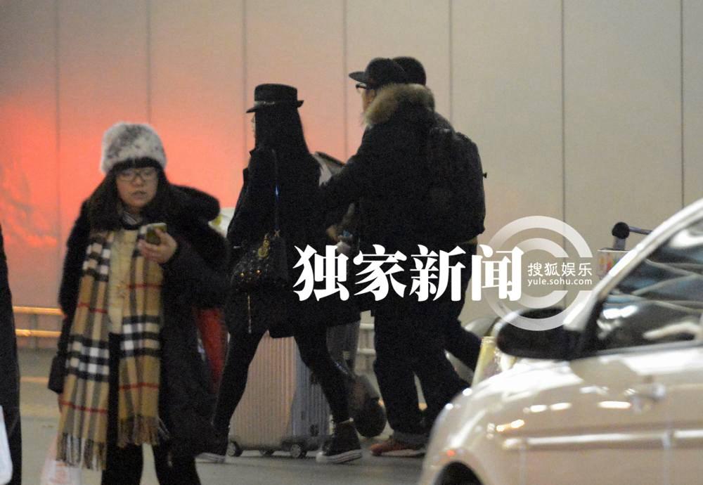 独家 王诗龄与李湘王岳伦回京 打扮似公主