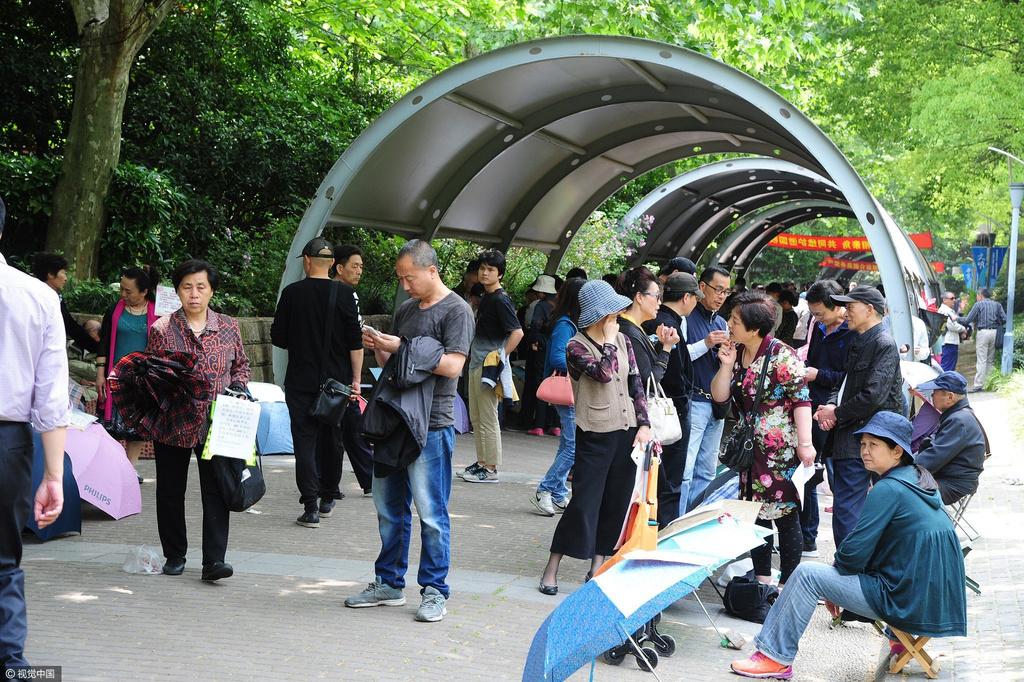 2017年5月6日,上海人民公园因为存在了10多年的图片 500807 1024x682
