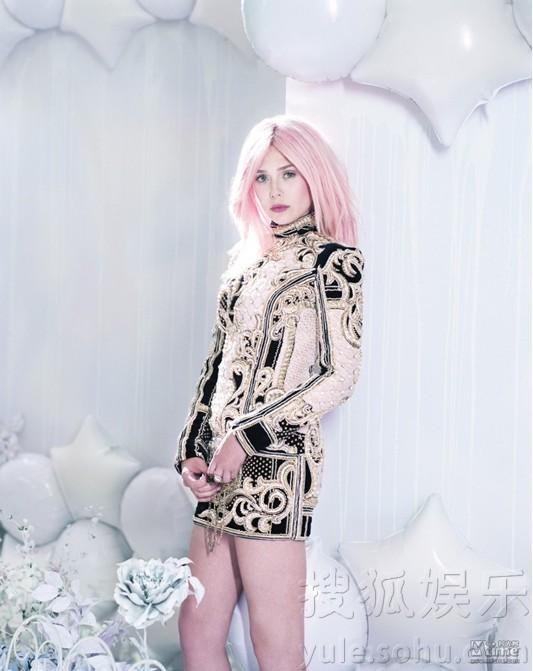 奥尔森亚伦约翰逊同刊写真 粉嫩帅酷青春唯美图片