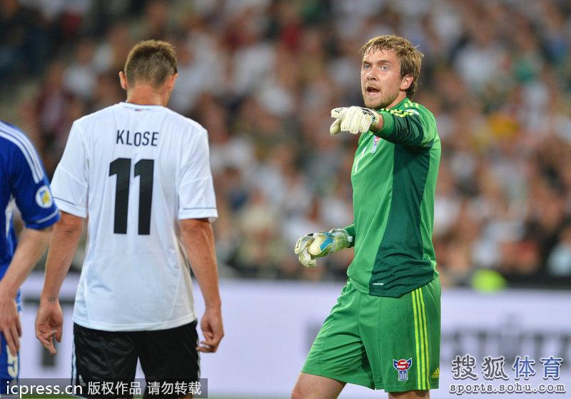 ,德国队迎来了2014巴西世界杯预选赛欧洲区C组的首轮比赛,他们图片