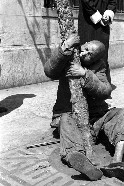 1942年河南大饥荒真实镜头