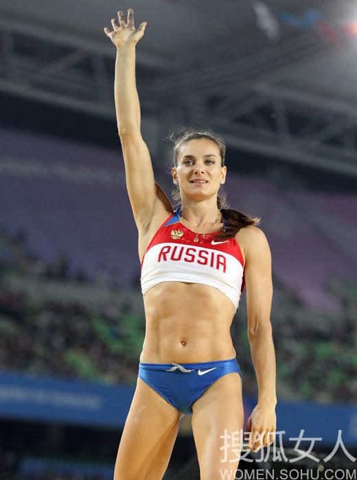 俄罗斯撑杆跳女皇伊辛巴耶娃 俄罗斯 运动员
