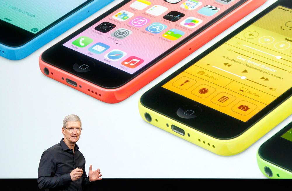 5s和iphone 5c,较之前的传闻来讲,本次的发布会并没有什么惊高清图片