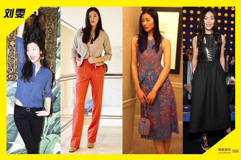 的大表姐刘雯,长腿细腰霸气颜,不说话站在那,就已经是米兰时装