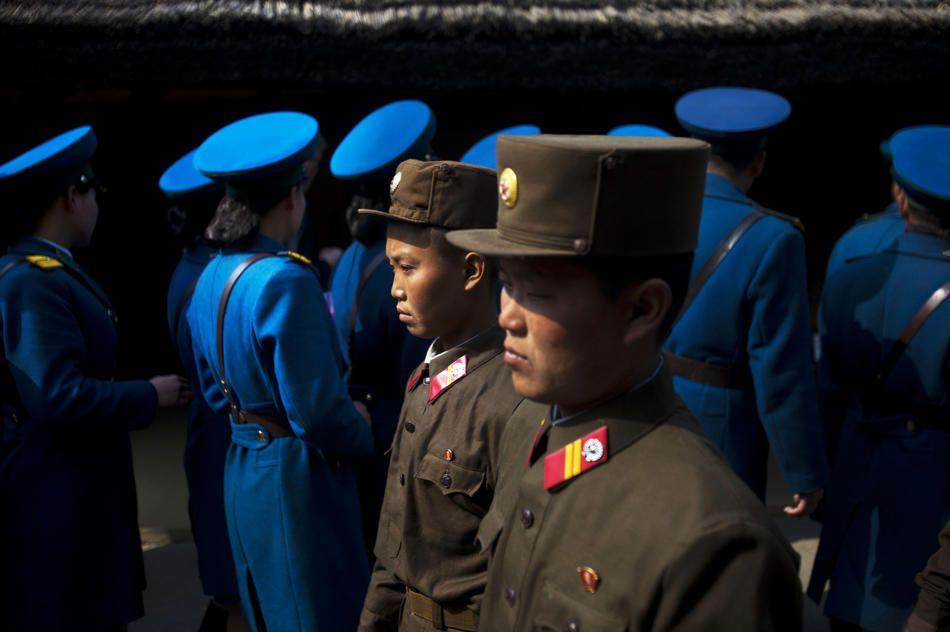 """""""这些照片是西方世界目前关于朝鲜业已发布的最深入直接的照片."""