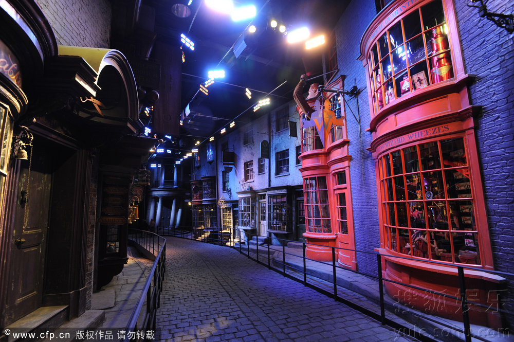 华纳启动哈利波特主题巡展 带哈迷畅游魔法世界