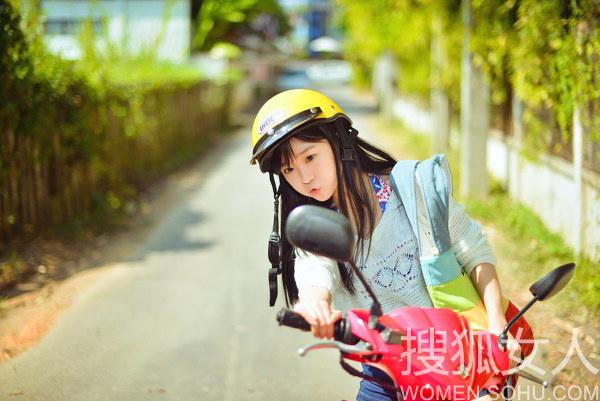 """北影""""校服女神""""宋伊人私照"""