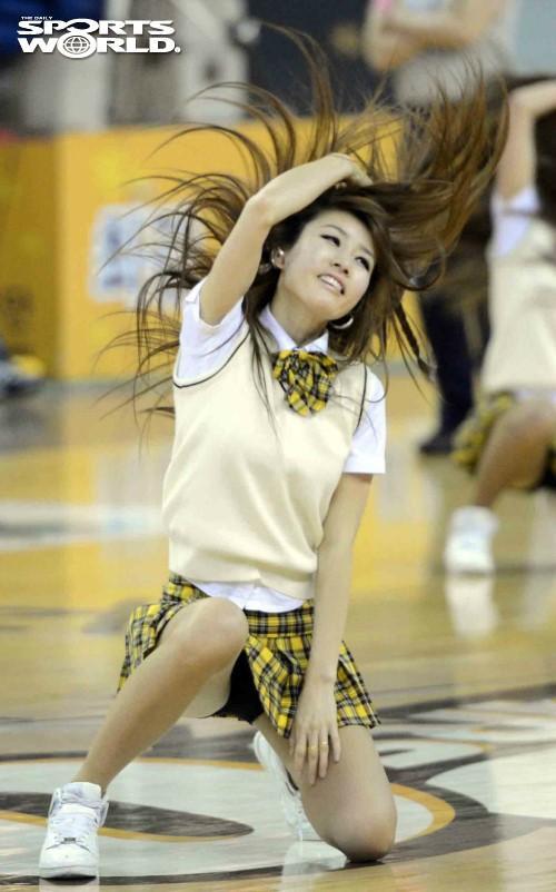 光的韩国篮球啦啦队5001810 娱乐频道图片库
