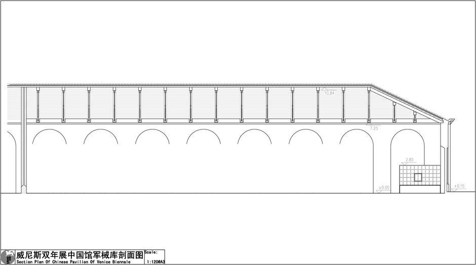 双年展中国馆结构图