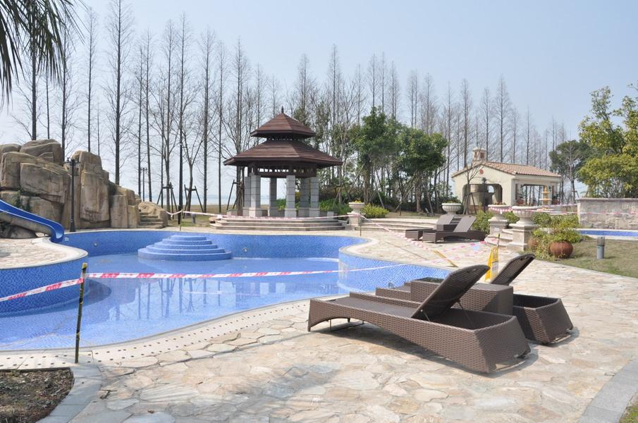 纳帕溪醍外景图 纳帕溪醍位于上海淀山湖4a旅游风景区