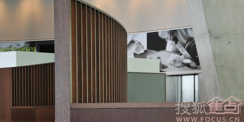 瑞士雀巢总部餐厅视野开阔 圆盘形设计独具匠心