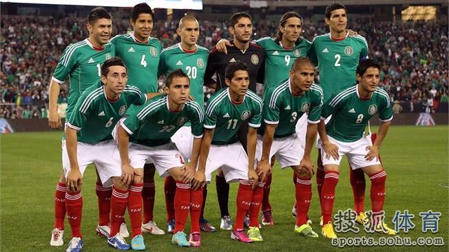 巴西世界杯墨西哥队