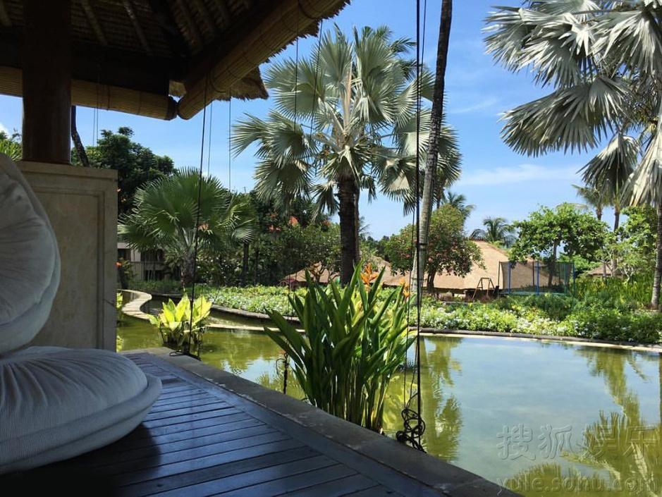 吴奇隆刘诗诗巴厘岛婚礼现场曝光 举办婚礼的酒店也是很多人梦幻的