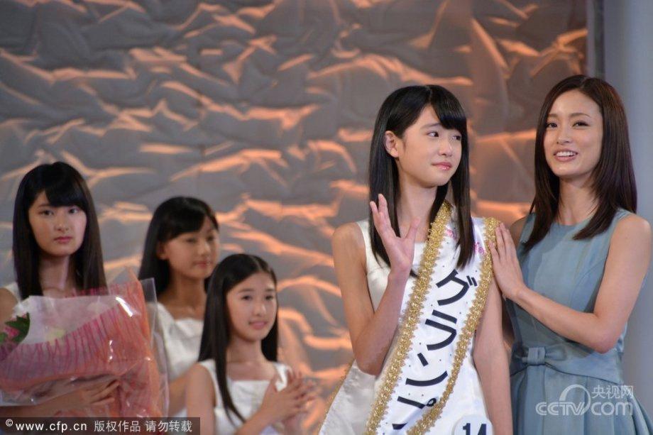 日本选拔国民美少女 12岁初中生夺冠7001334 新闻