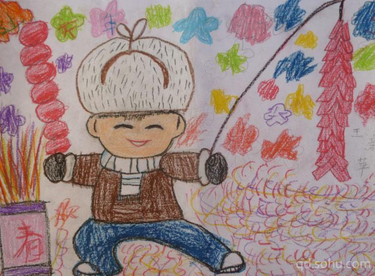 由搜狐青岛主办的第二届青岛市自闭症儿童绘画展已