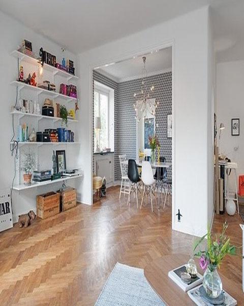 哥德堡式北欧公寓装修方案 简单大方 北欧风格的房屋装修