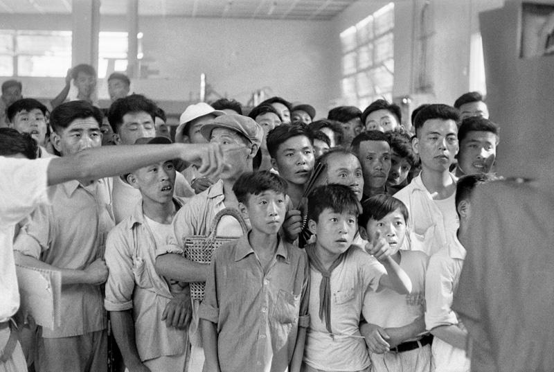 50年代布列松镜头下的中国