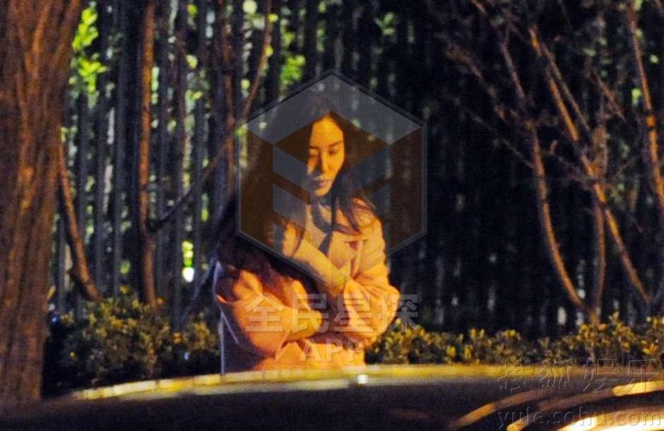李亚鹏约神秘女共进晚餐 前后脚现身同车离去