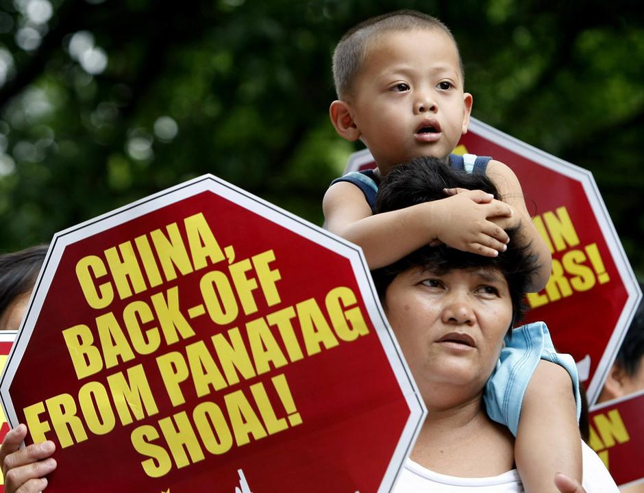 菲律宾民众举行反华示威 - 梦幻12315 - 梦幻人生家园