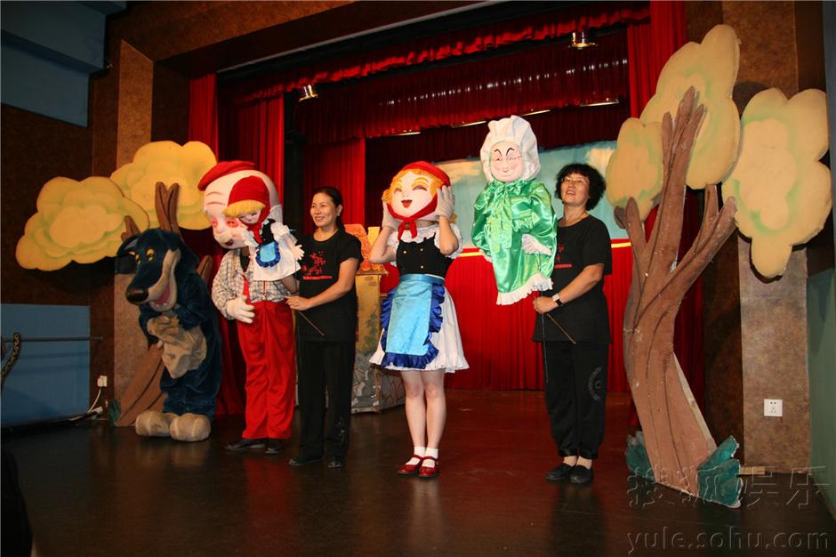 演出时间:周六日 中国木偶剧院优惠大展演