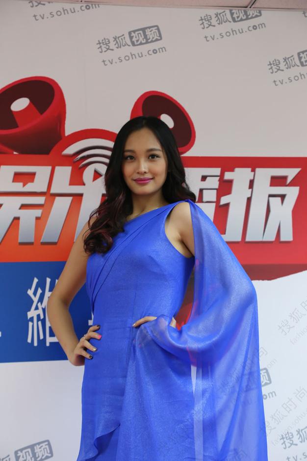 2014北京车展车模权力榜-李柏蓉