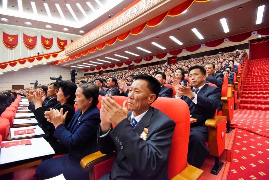 """金正恩""""加冕"""" 当选为朝鲜劳动党委员长2016.5.10 - fpdlgswmx - fpdlgswmx的博客"""