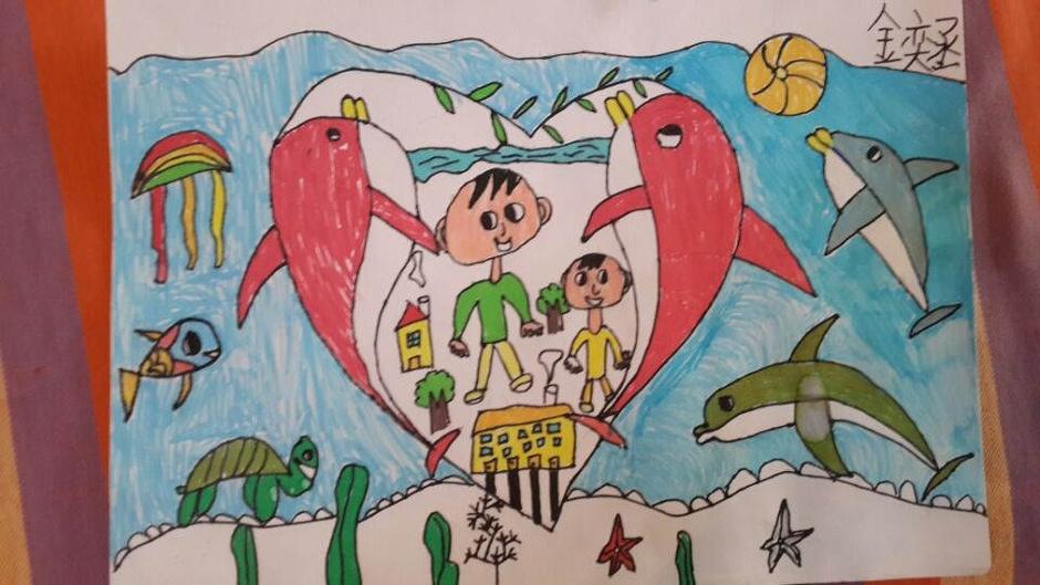 2014年小学生网络书画大赛作品(图文)图片