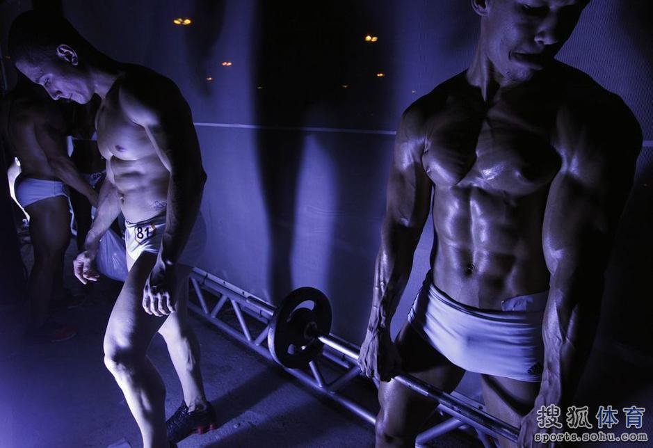 高清:巴西健身先生小姐选拔