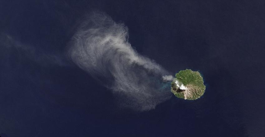 太空卫星俯拍各国岛屿另类照