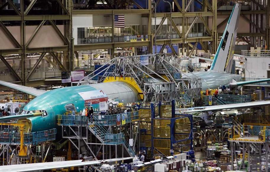 飞机工厂与造梦者:探秘波音-777生产线