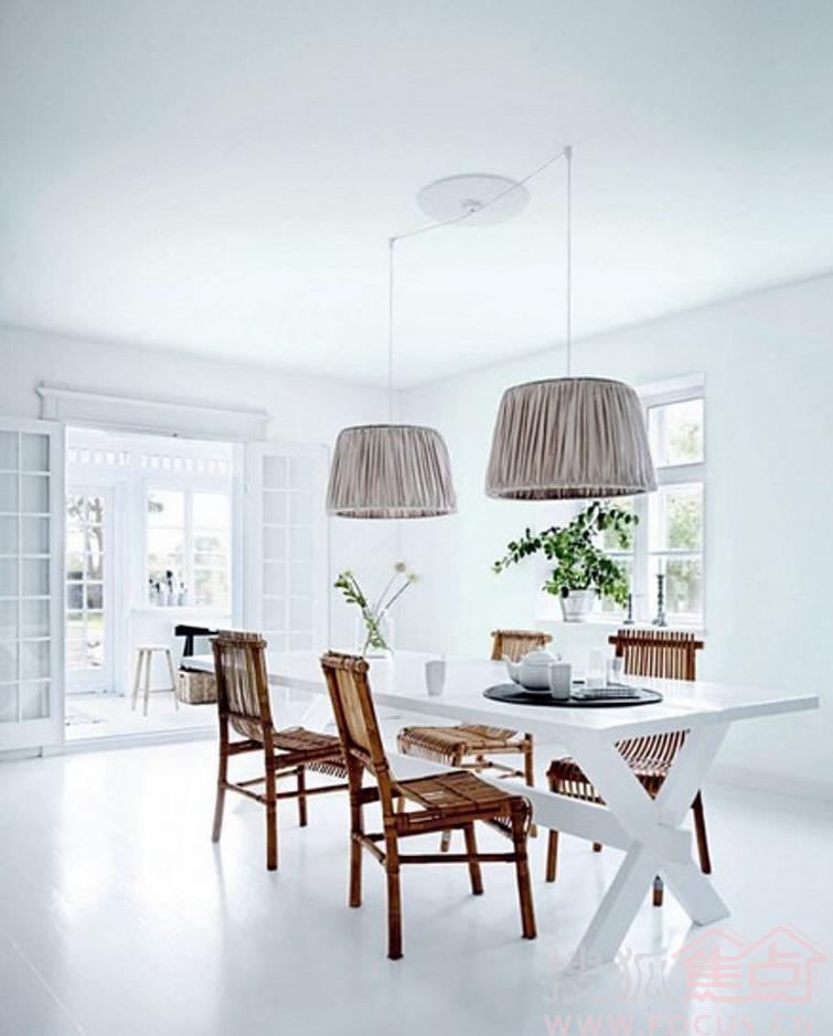 白色家居设计 简单中透露着华丽