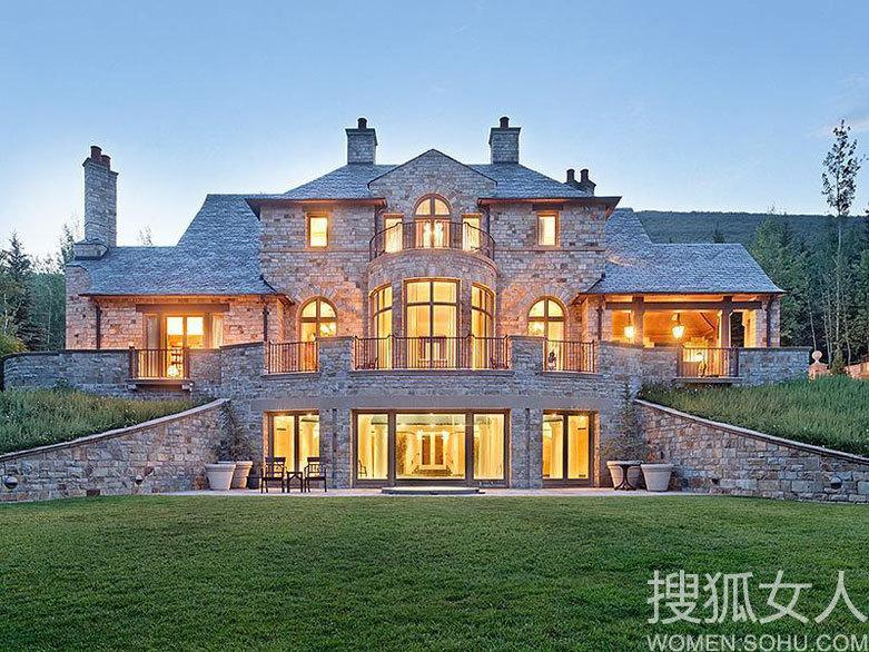 【转载】 浓郁复古风优雅奢华法式乡村别墅