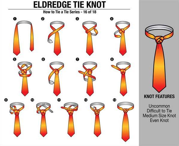 图解18种领带的打法 图解18种领带的打法