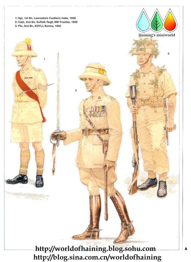 二战英军军服图册 远东7688178-军事频道图片