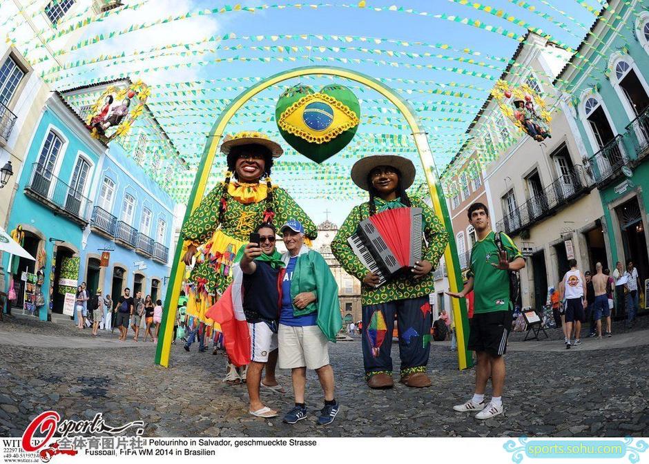 2014年巴西世界杯,探访巴西第三大城市萨尔瓦多,景色秀丽全城足球气氛